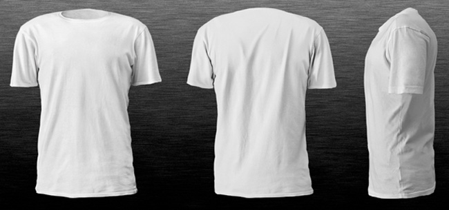 TShirt Mockup Templates To Help Display TShirt Designs  Print