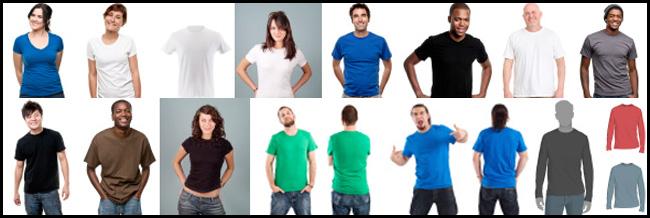 istockphoto T-shirt mockups
