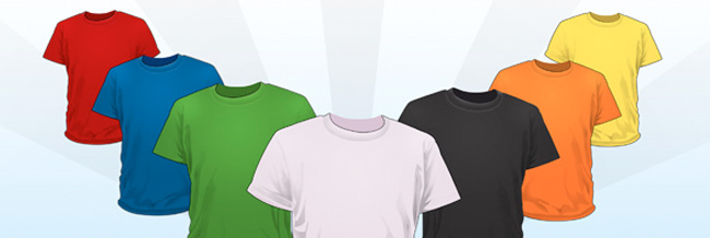 t-shirt PSD files
