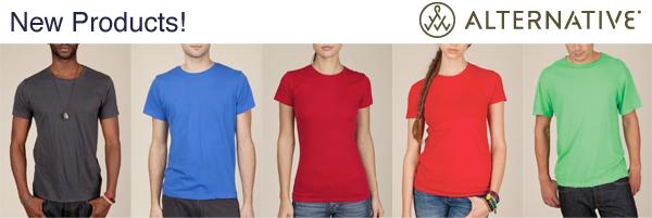 New t shirt fulfillment for alternative apparel print for T shirt printing and fulfillment