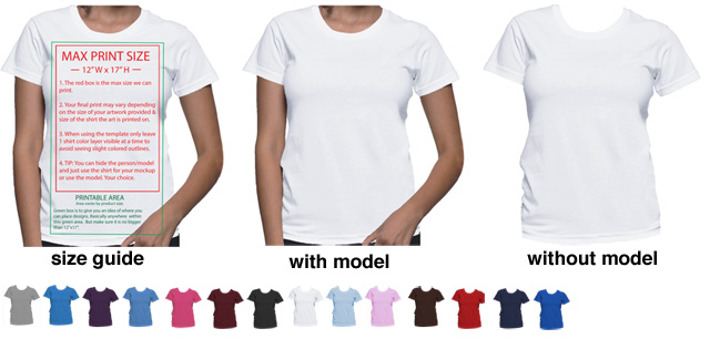 T shirt mockup templates to help display t shirt designs for American apparel meet the models template