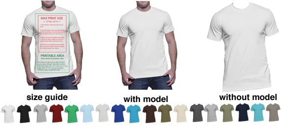 next level 3600 mens t shirt - Free T Shirt Mockup Template