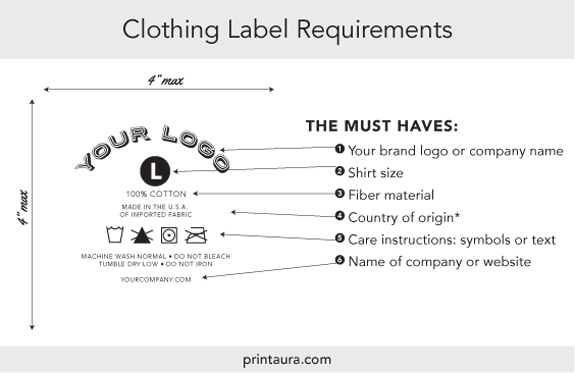 Branding Services Tagless Neck Label Application  Print Aura