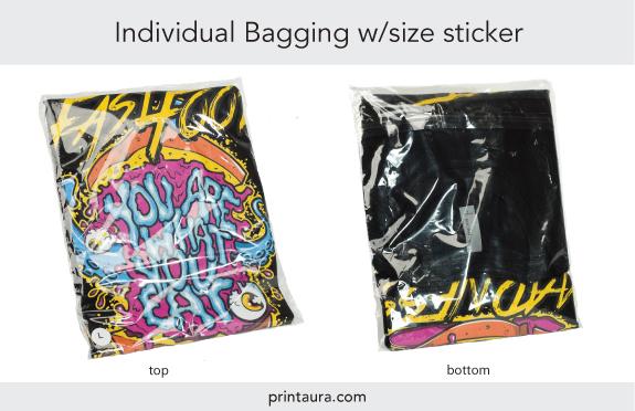 Individual T-Shirt Bagging
