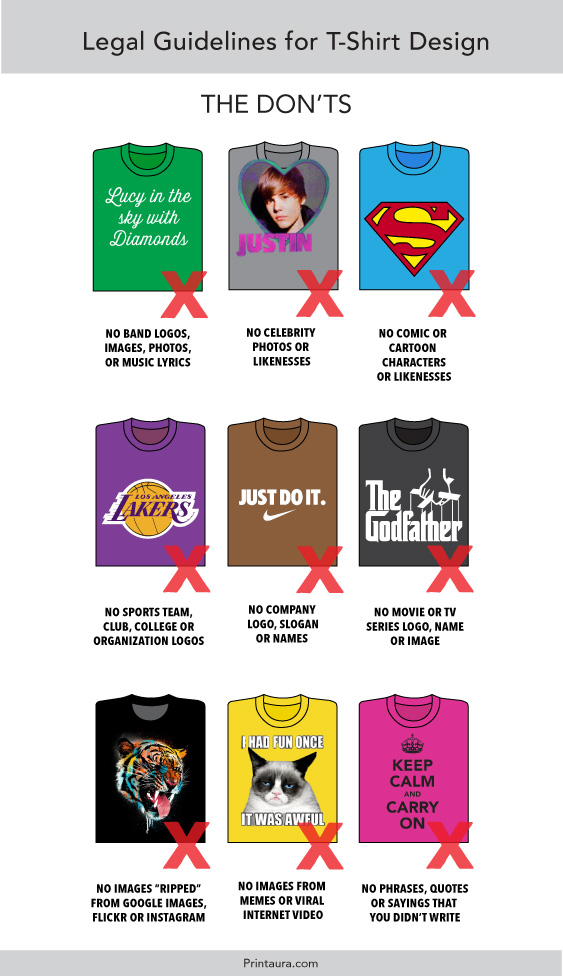 Legal Guide to T-Shirt Design