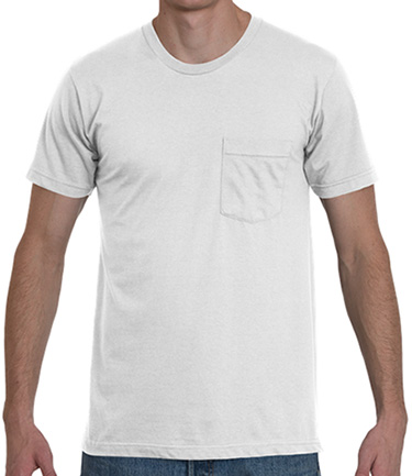 Full Pocket Prints on T-Shirts - On Demand, No Minimums | Print Aura ...