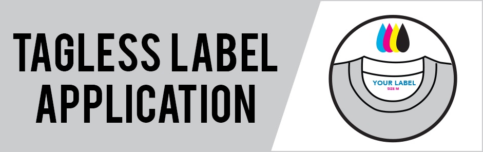 Tagless Label Application