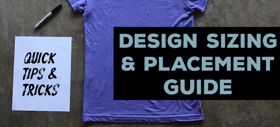 design sizing and placement guide