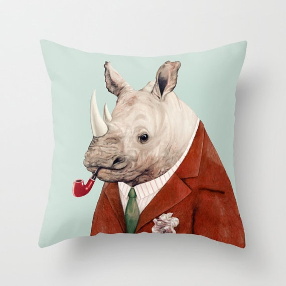 Rhino Pillow