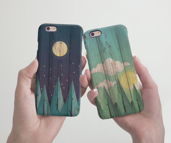 wood case set