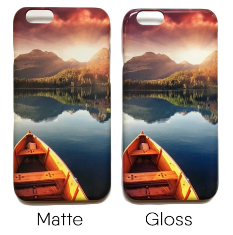 matte vs gloss