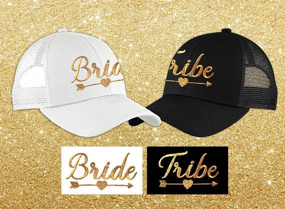 bride tribe hats 2