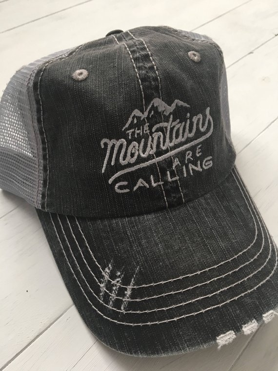 mounts are calling hat