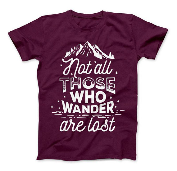 wander are lost